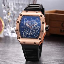 Часы Big man Rose DZ digite S Rlo dz, автоматическое отображение даты и недели, светящиеся часы для дайвинверов, наручные часы из нержавеющей стали, подар...(Китай)