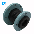 Casting flange flexible reducing rubber expansion joint Different diameter rubber fittings for pipes