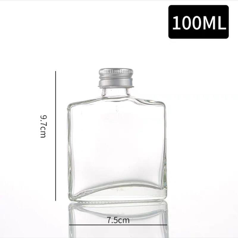 En gros mini bouteilles de vin whisky en verre givré bouteille vide