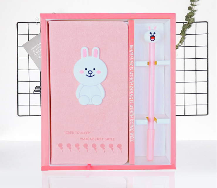 wholesale creative kawaii notebook ,novelty planner for daily, present for children