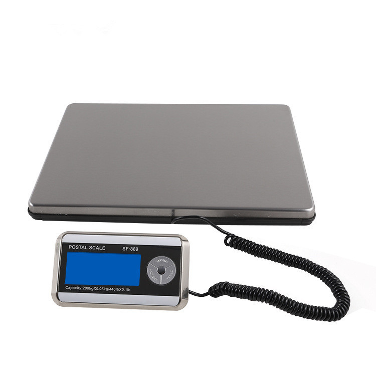 Smart Weigh Post Digital Shipping Weight <strong>Scale</strong>, 440LB 200KG,UPS USPS Post Office Postal <strong>Scale</strong> Luggage <strong>Scale</strong>