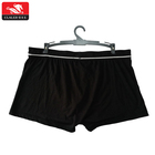 Custom bulk authentic apparel comfortable boxer briefs big size cotton men briefs underwear