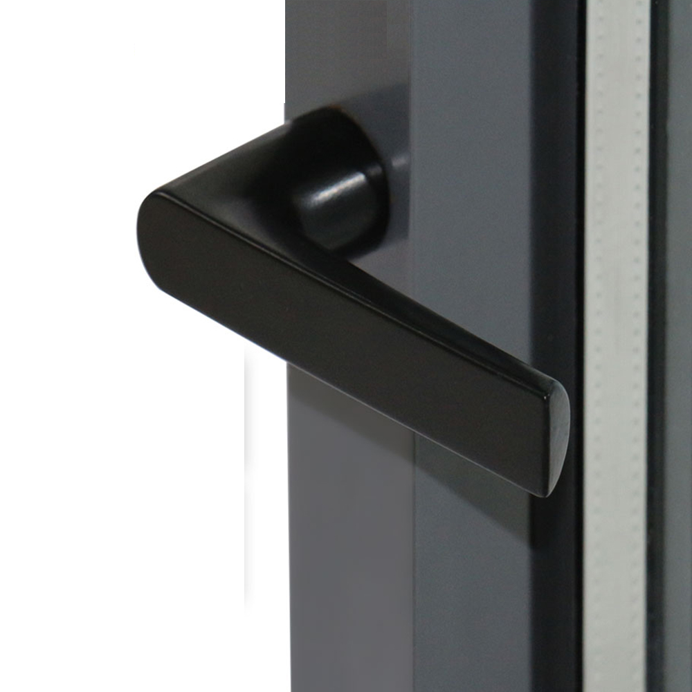 NFRC AS2047 standard home safety custom aluminum glass bullet sound proof window