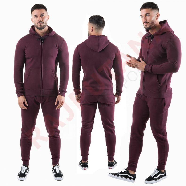 Men sweat suit jogging track suit tech sweat suits jacket fitness tech fleece tracksuit