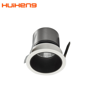 HH17 12v 12w Rotating Mini Fitting Rgb Recess Dimmable Cover Boutique Anti Glare Spot Light Led Spotlight From China