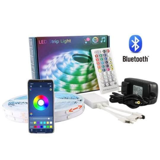 Wholesale outdoor flexible 5050  5m/10m/15m RGB waterproof LED strip 44 key IR remote controlled