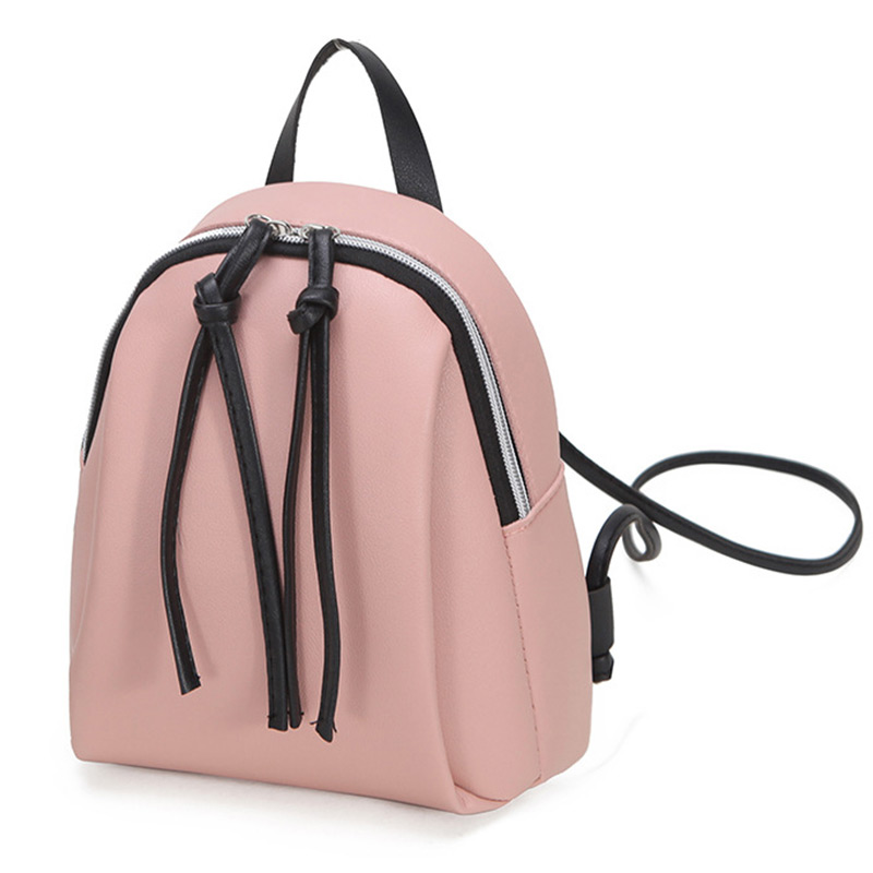 product-GF bags-mochilas 2020 Newest Fashion Lady Small Backpack Women Leather Shoulder Bag Girls Sc