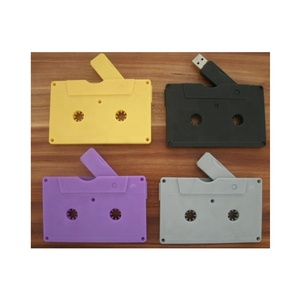 wholesale cassette tape usb flash drive,Cassette Tape Shape USB 2.0 Flash Drive Pendrive,Black casette 1gb usb