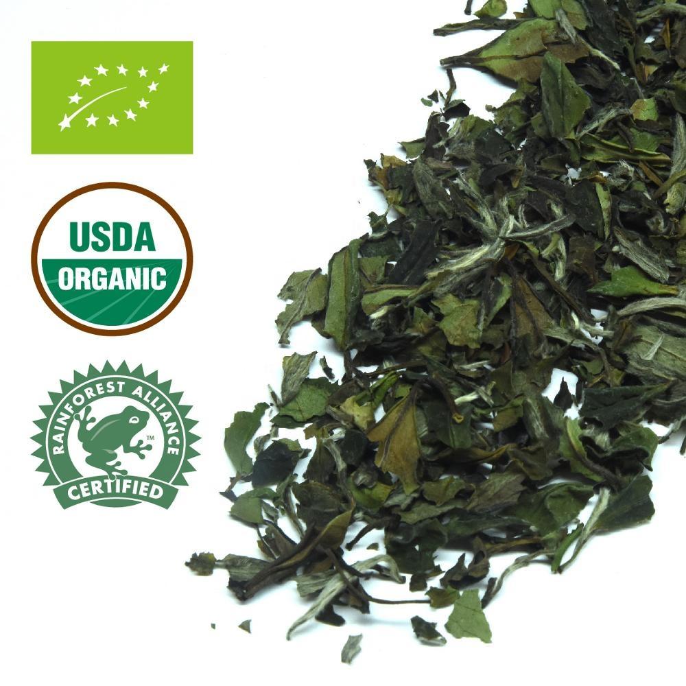 Organic White Tea High-grown White Peony Tea 100% Natural - 4uTea | 4uTea.com