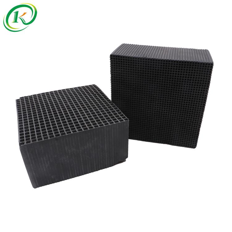 Honeycomb Karbon Aktif Honeycomb Karbon Aktif Filter untuk Air Conditioner