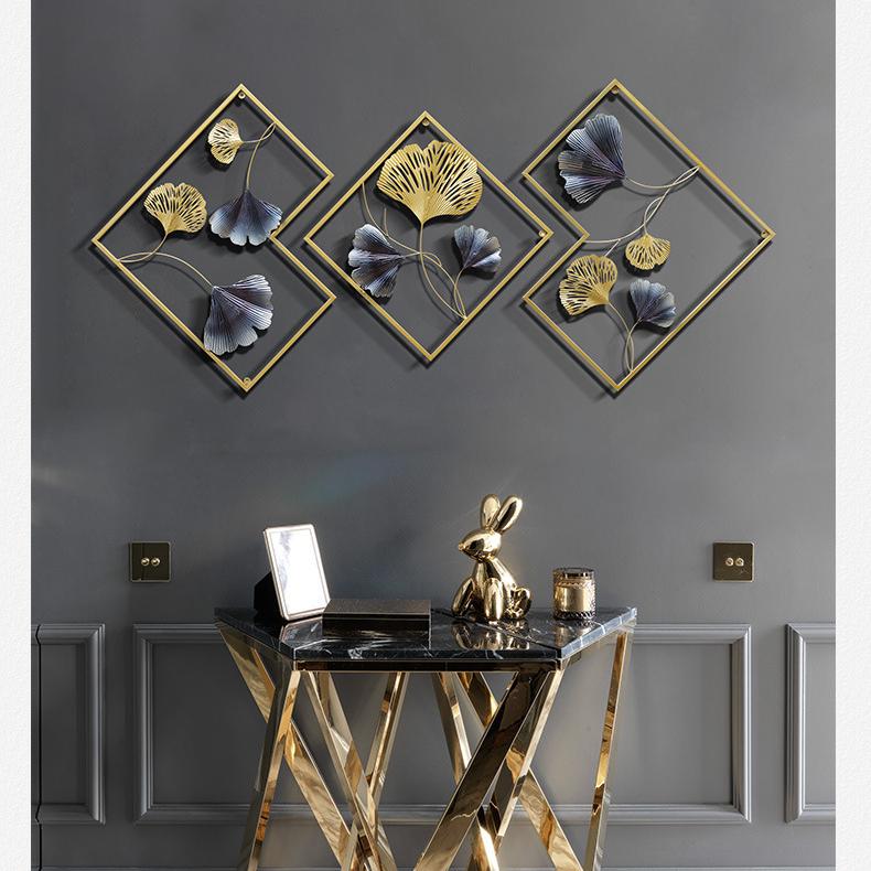 Artwork interior home decorations wall art home decor sofa living room furniture ornament wall metal decor