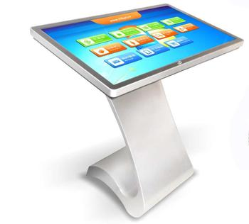 Chimee 49 inch 10 point infrared table touch kiosk digital advertising stands kiosk for traders supporting customization