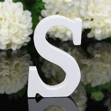 Большие деревянные буквы Алфавит настенный DIY художественное ремесло Свадебная вечеринка домашний декор lettre Алфавит украшение letras decorativas(Китай)