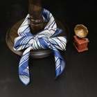 Wholesale custom printed 24 MM 100% silk twill scarf for women