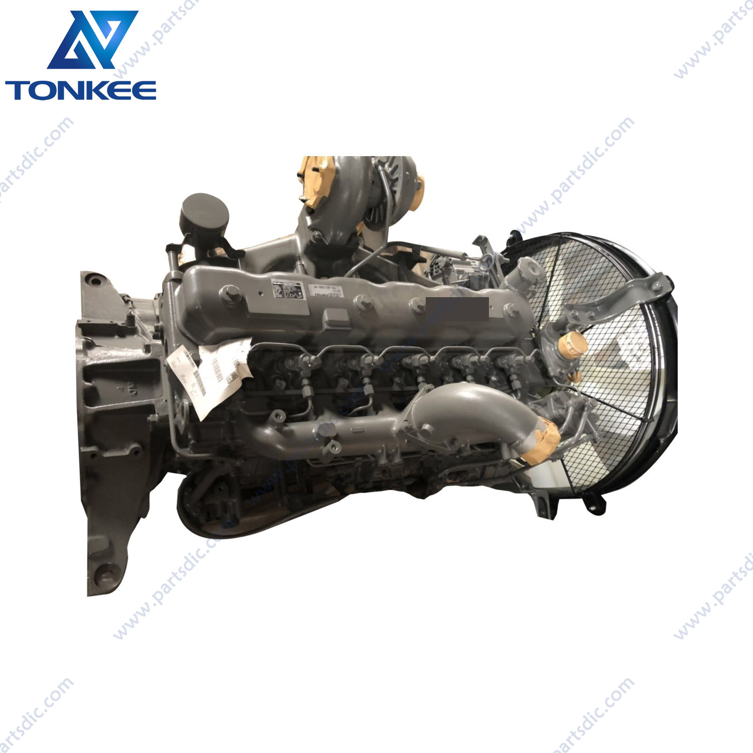 construction machinery parts 4489383 6BD1 AA-6BG1 TRA EX200-2 EX200-3 EX200-5 ZX200LC ZX200-3G excavator diesel engine assembly