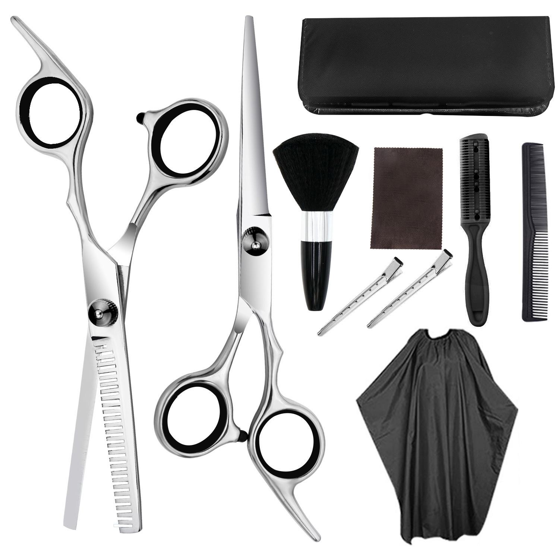 Profesyonel saç kesme makası makası, saç kesimi İnceltme makası ev Salon kuaför kuaförlük makas seti
