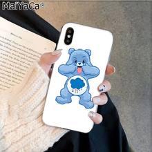 MaiYaCa стильная футболка с изображением персонажей видеоигр Care Bears Роскошный чехол для телефона Apple iphone 11 pro 8 7 66S Plus iphone X XS MAX 5S SE XR корпус под пле...(Китай)