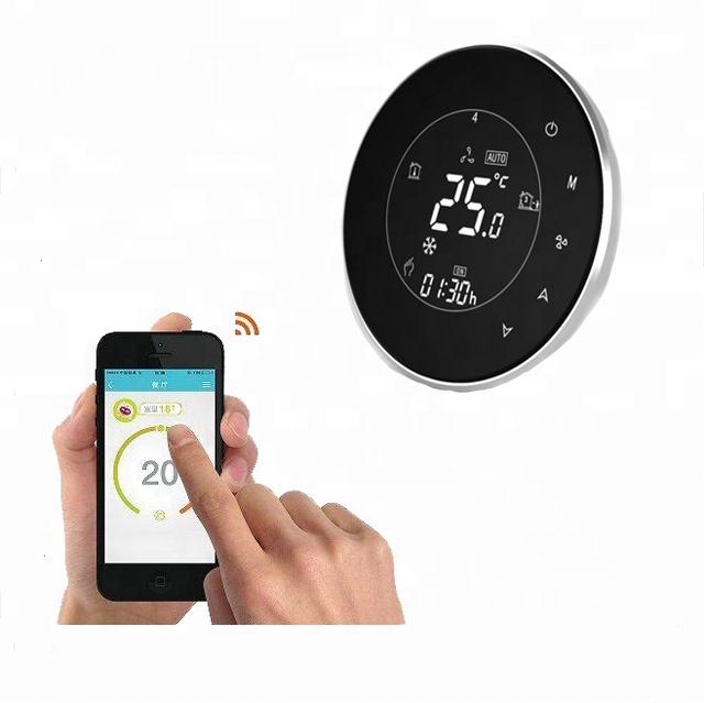 รีโมทคอนโทรล Universal WIFI ชั้นความร้อน Thermostat, wifi thermostat controller