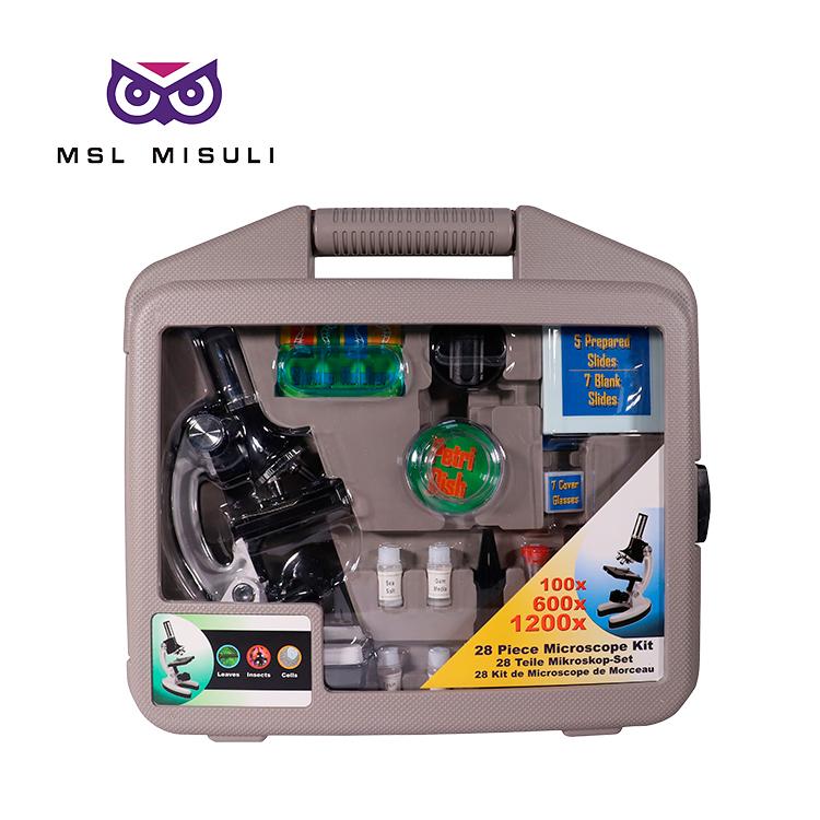 Чехол окуляр hd Новый микробиологический светодиодный Стенд Микроскоп