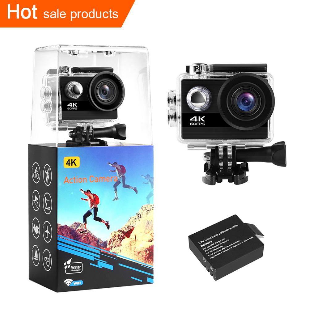 2020 아마존 좋은 평판 4K 60fps 유튜브 액션 카메라 4k 방수 와이파이 비디오 카메라