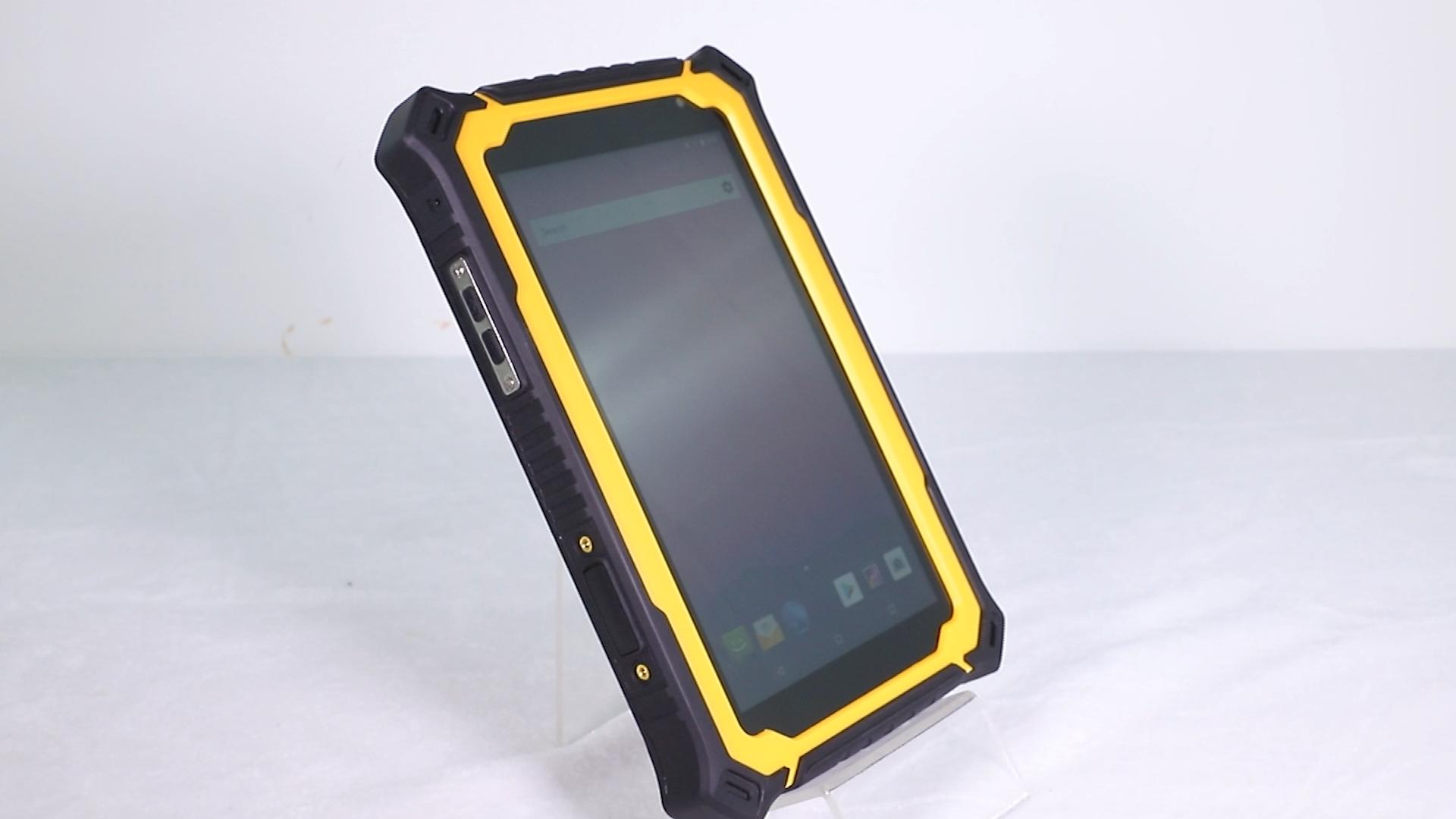HUGEROCK-tablette de 7 pouces, Android, biométrique, Portable, avec os/déverrouillage par empreinte digitale, robuste, reconnaissance de terrain