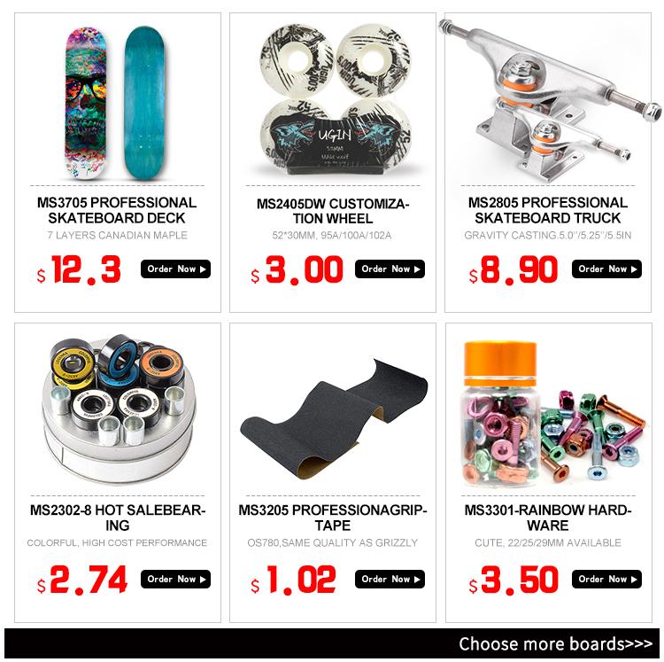 Herstellung weiß 52mm weiß farbe PU freies skateboard skate räder