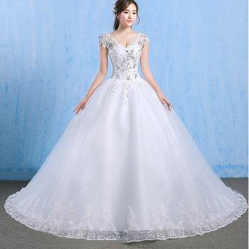 Z91719a Nice Lace/tulle Ruffles Wedding Dress Sale In China/plus Size  Wedding Dress - Buy Wedding Dress,Wedding Dress 2019,Wedding Dresses Made  In ...