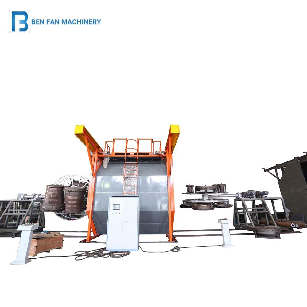 Durable and reliable shuttle rotomoulding machine,rotational molding machine
