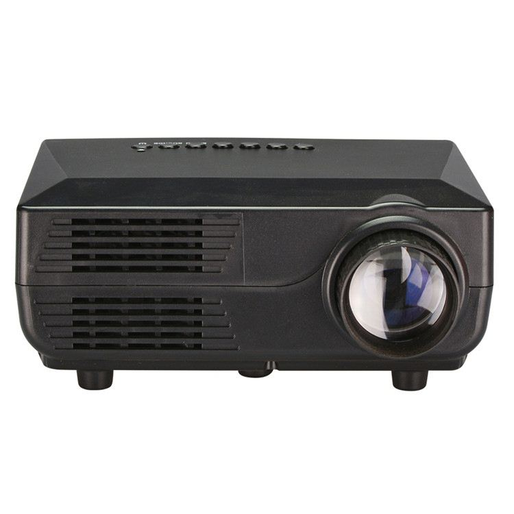 "2.55"" Single LCD Panel Display 500 lumens cheap projector"