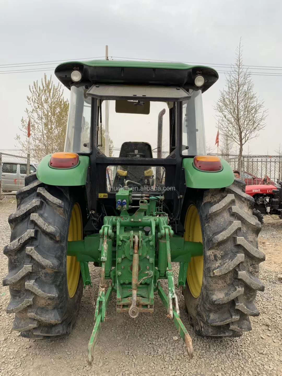 Second hand 55-100HP Diesel engine Wheel Agriculture Farm Tractors