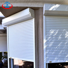 Custom Color Exterior Position Aluminum Shutter Roll Up Window From Manufacturer