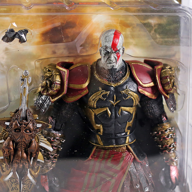 7 Neca God Of War 2 Ii Kratos In Ares Armor W Blades Pvc Action Figure Toy Doll Chritmas Gift Hot Retail God Of War 2 God Of Warfigure Toy Aliexpress