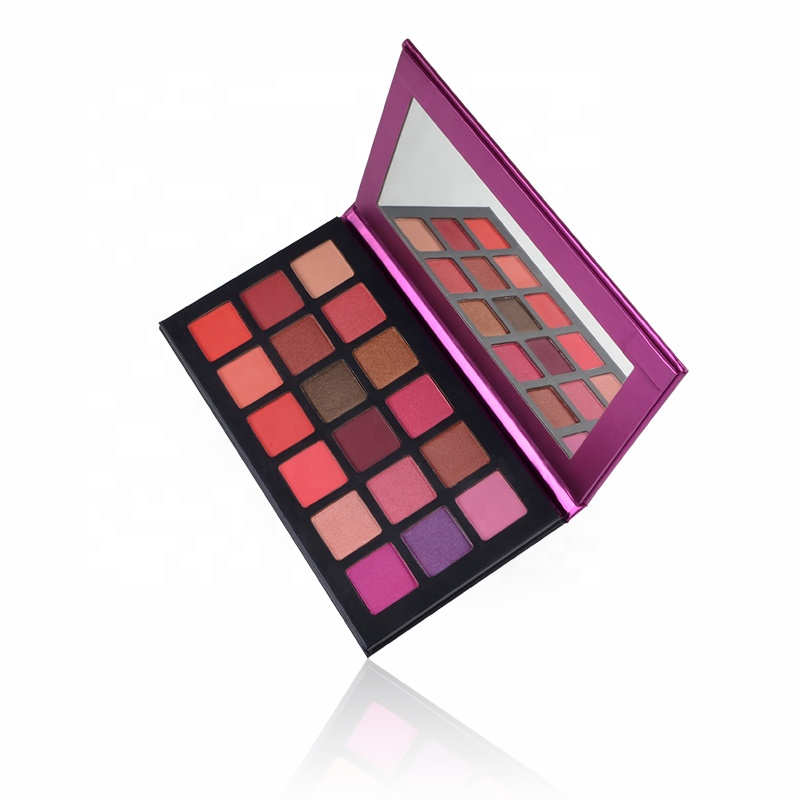 18 Colors Customize Private Label Custom Eyeshadow Palette <strong>Cosmetic</strong>