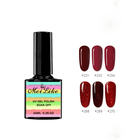 Off Nail Polish Peel Off Nail Polish Water Base OEM Private Label Non Toxic Clear Beauty Color Origin Match Type Glue