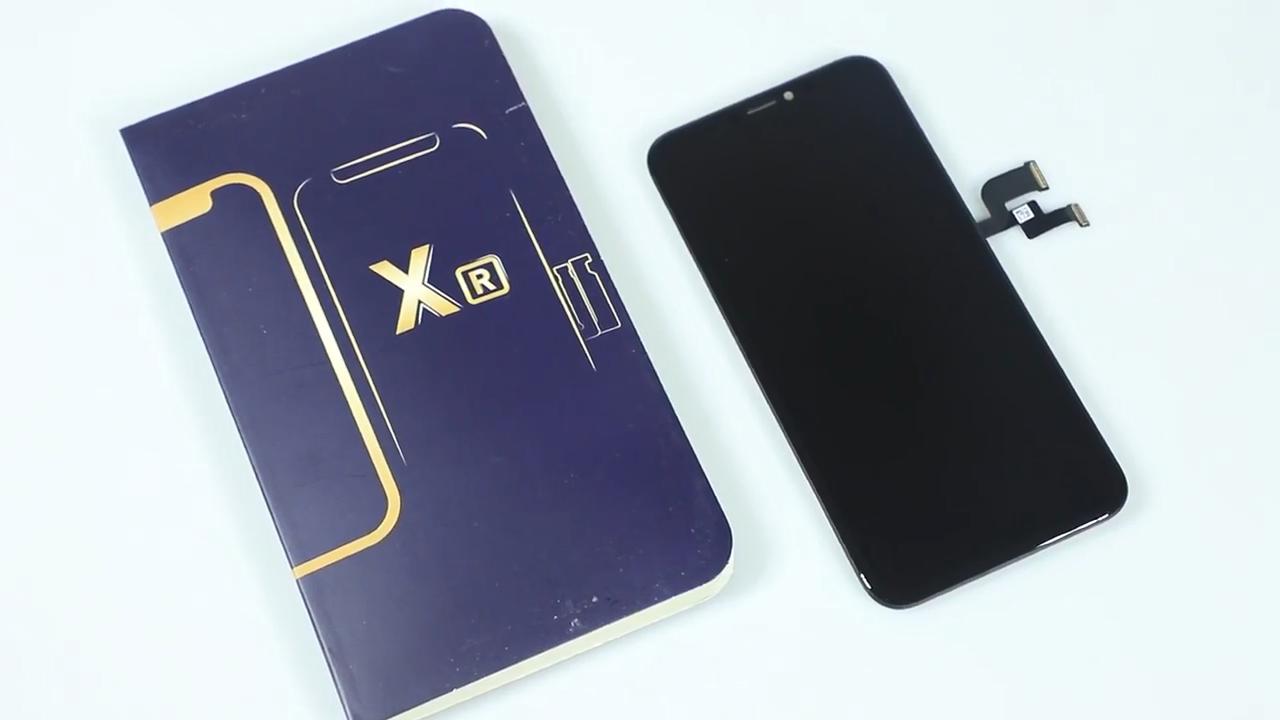 Tela do telefone móvel para o iphone 5 6 7 8X11,LCD display touch para iphone 6 7 8 10 11, substituição da tela de exibição para iphone