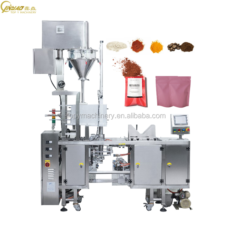 CE Approved Automatic Premade Pouch Wheat Flour Chakki Atta Packing Machine