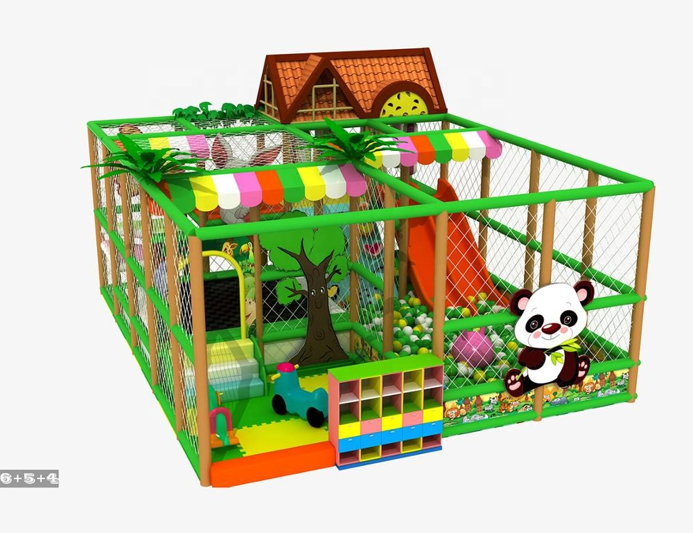 Kids forest theme indoor playground jungle theme for sale