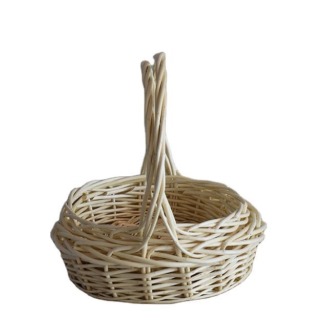 Portable wicker basket Home storage China Style