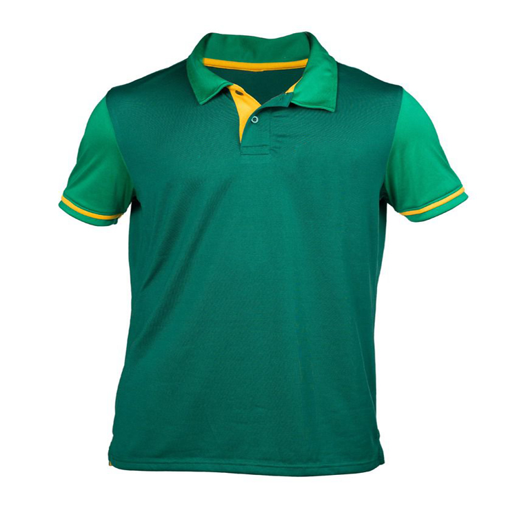 Hong Kong Professionelle Top Design Grün Sport Cricket Team Jersey