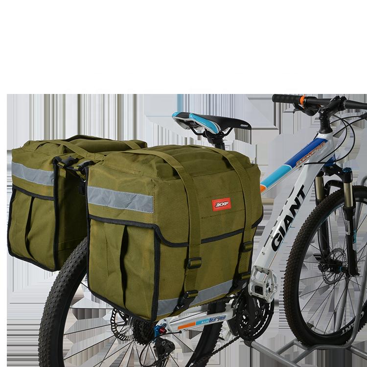 Bicycle Rear Seat Bag Bike Rack Pouch