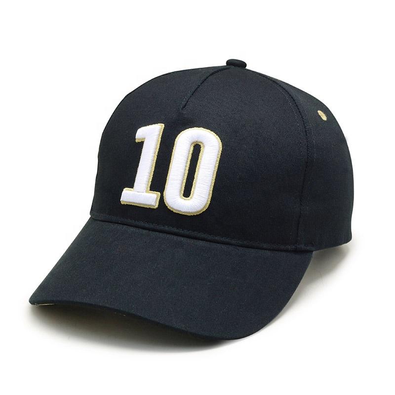 उच्च गुणवत्ता के कपास कढ़ाई कस्टम बेसबॉल कैप और टोपी चीन कारखाने