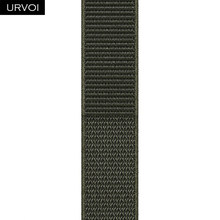 URVOI Sport loop band для apple watch series 5 4 3 ремешок для iwatch breathabe hook застежка тканый нейлон 40 мм 44 мм(Китай)