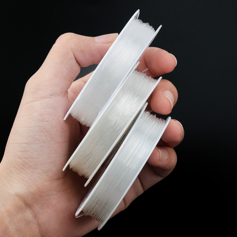 Best Selling Bracelet Accessories Transparent Korea Crystal Tec Stretch Elastic String Cord