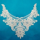 High Quality Embroidery Neck Lace Collar/Lace Applique/Lace Patch