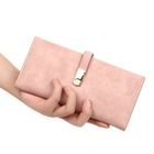 VICUNA POLO Wallets Fashion Girls Multicard Position Fashion Women Pu Leather Quality Pink Slim New Wallet