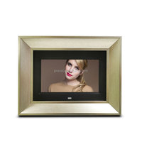 "Most Popular wooden frame 7"" display video / sexy hot hd video download english blue movie widely used in 2019 Christmas gift"