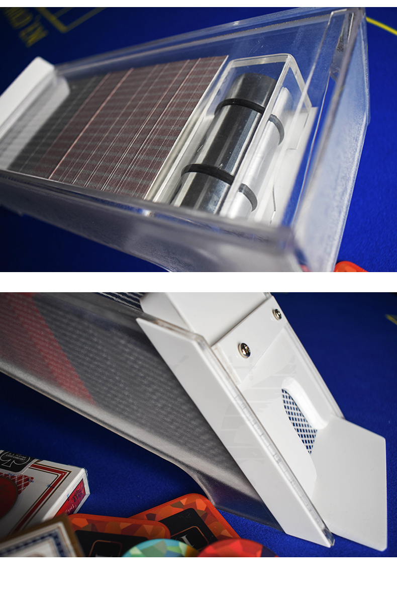 YH Wholesale Custom New Style Dealer High Shoe Baccarat Playing Card Dispenser
