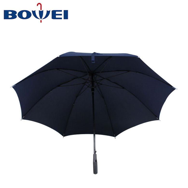 2020 Japanese high quality automatic straight pongee golf umbrellas rain umbrella