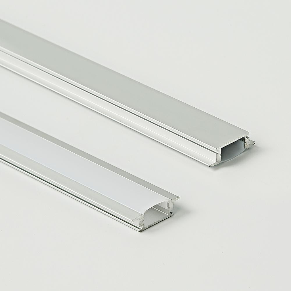 17x7A high light output linear light aluminum strips extrusion thin led aluminum profile