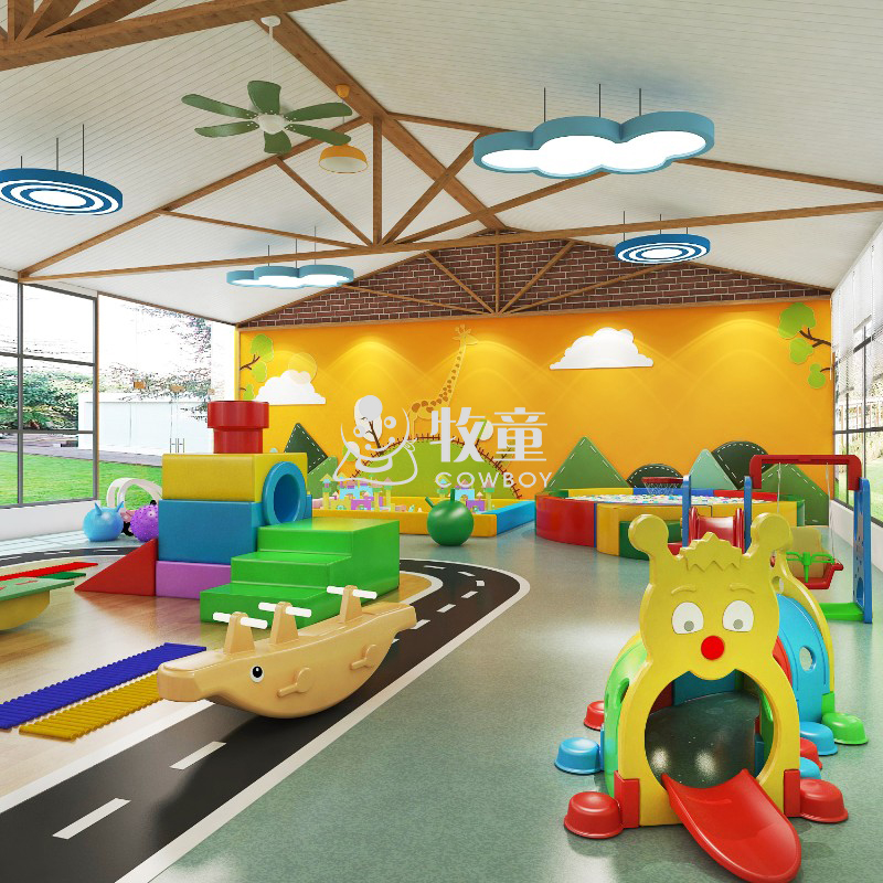 Nursery School Indoor Play Area